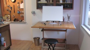 Interior shot of Studio Six Fine Art