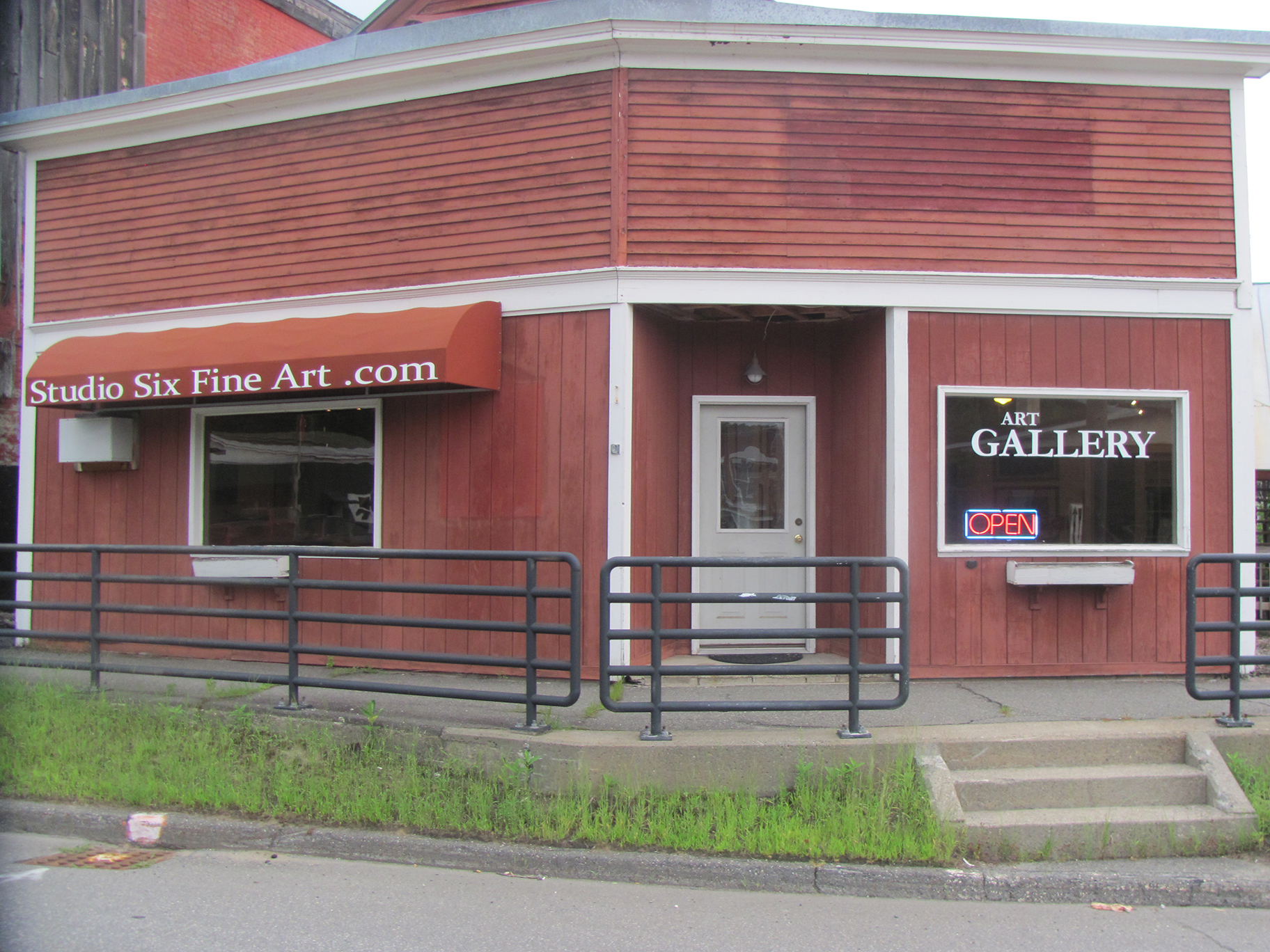 Exterior of Studio Six Fine Art
