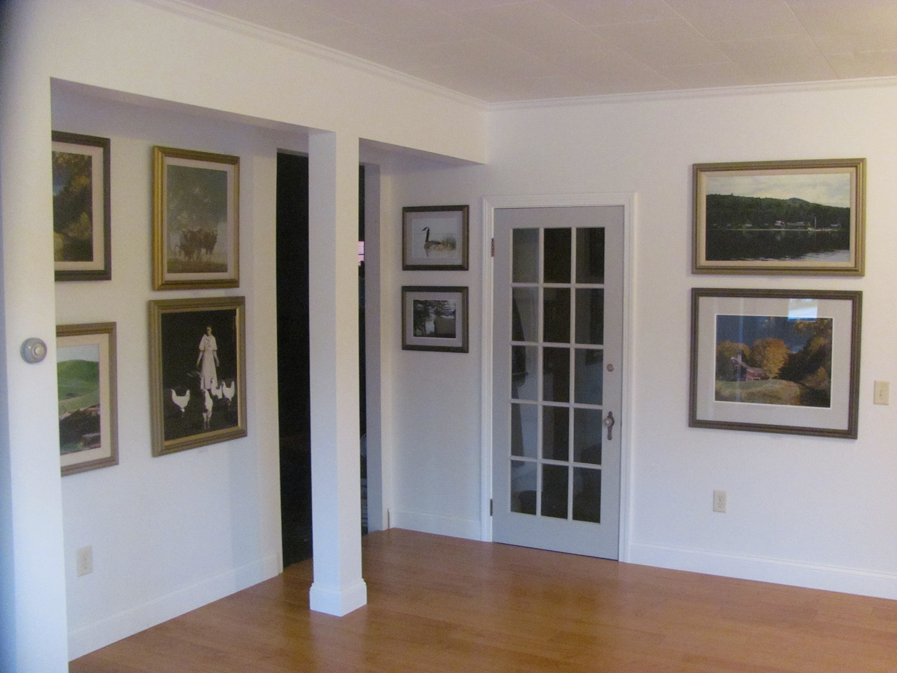 Interior of Studio Six Fine Art